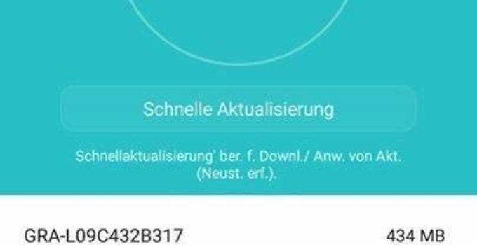 Huawei P8 – Systemupdate B317 für Android 6 [Beta] *Update*