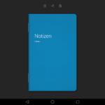 Huawei MediaPad M2 10.0 Notizbuch