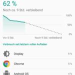 Nexus 6 P Android N Akku
