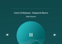 Spotify auf dem Lockscreen