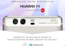 Huawei P9 vorbestellen und 100€ Pixum Gutschein sichern