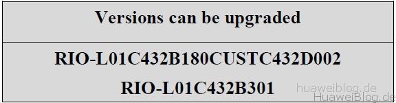 RIO-L01C432B340 Huawei GX8 Marshmallow