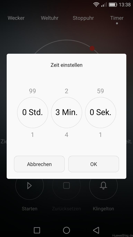 Sekunden EMUI 4.1