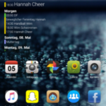 Widgets auf dem Homescreen EMUI
