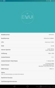 Tablet Info MediaPad T2 10.0 Pro