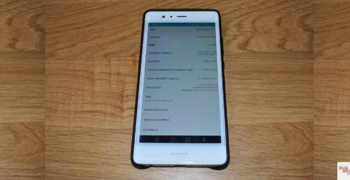 Huawei P9 Firmware B160