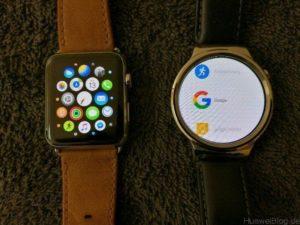 Huawei Watch vs Apple Watch Apps