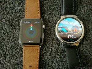 Huawei Watch vs Apple Watch Aktivitäten