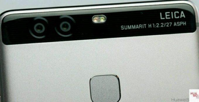 Huawei p9 mit Leica Dual-Linsen Kamera