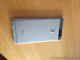 EasyAcc Huawei P9 Plus Cover Transparente TPU Crystal Clear