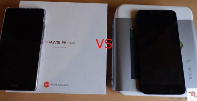 Huawei P9 Plus vs Nexus 6P Vergleich