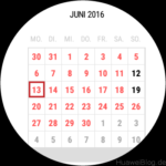 Android Wear Kalender