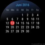 Hauwei Watch Kalender
