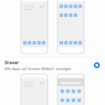 Huawei P9 Android N App Drawer