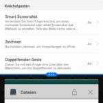 Huawei P9 Android N Splitscreen