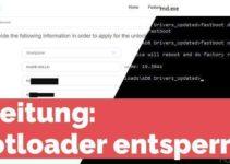 Bootloader entsperren / unlock - Huawei
