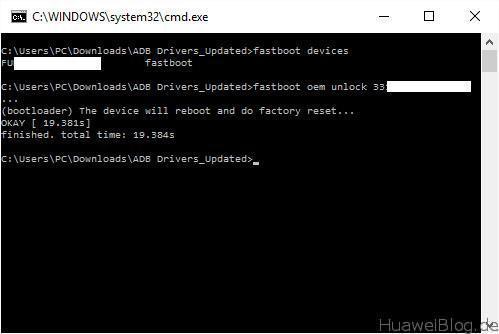 Huawei Bootloader Unlock 9