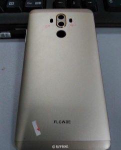 Huawei Mate 9 Rückseite Leak