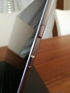 Huawei MateBook Fingerabdrucksensor