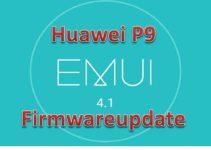 Huawei P9 B170 Firmware Update
