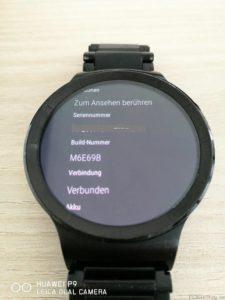 Huawei Watch Update M6E69B Info