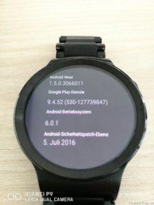 Huawei Watch Update M6E69B Versionen