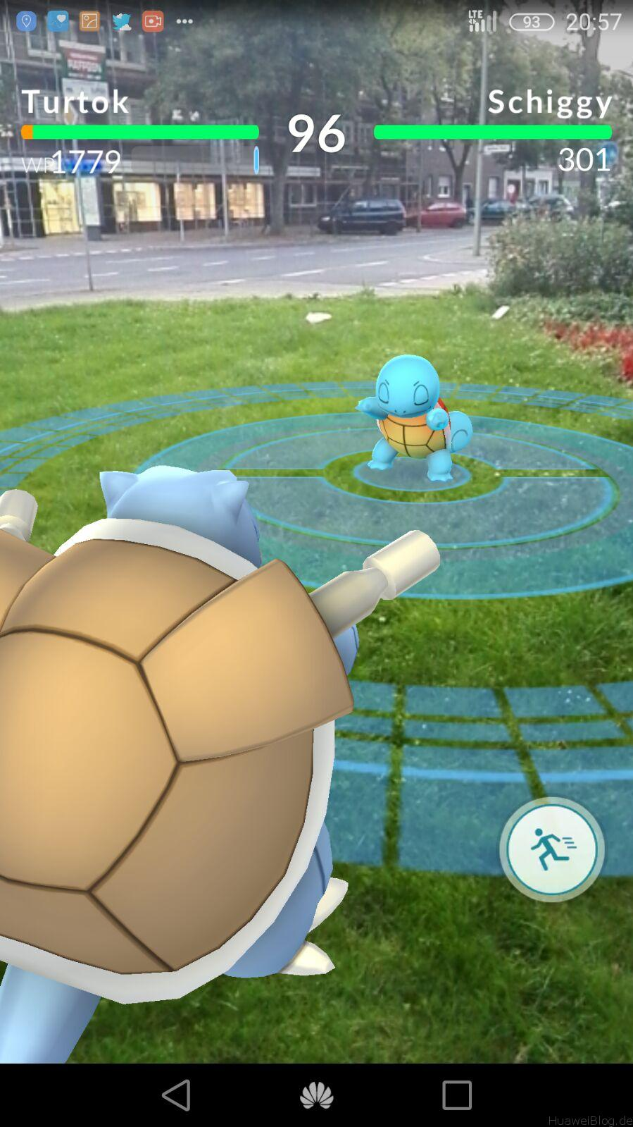 Pokémon Go Arena AR