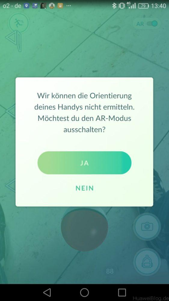 Pokemon Go AR Modus