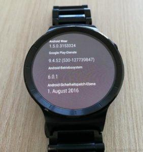 Huawei Watch Update M6E69F Google