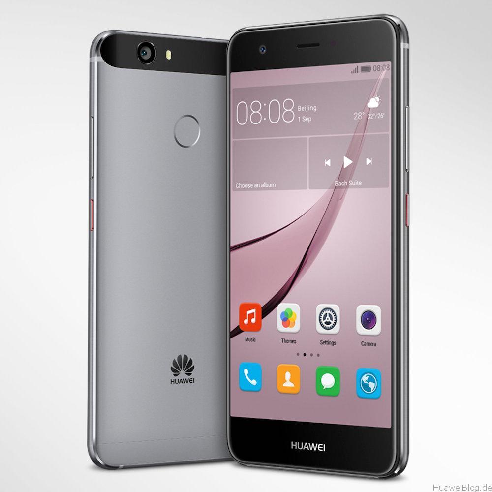 Huawei nova - silber
