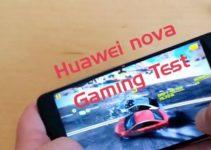 Huawei nova Test Gaming Performance