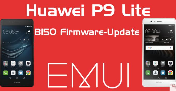Huawei P9 Lite B150 Firmware Update