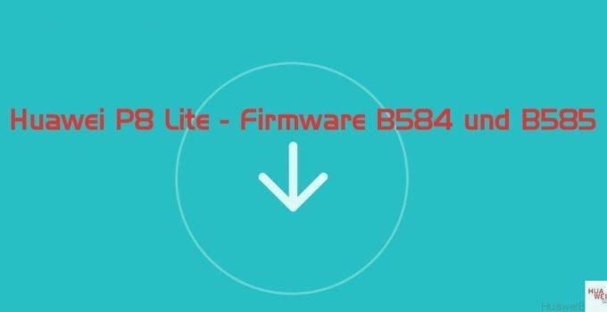 Update B584 und B585