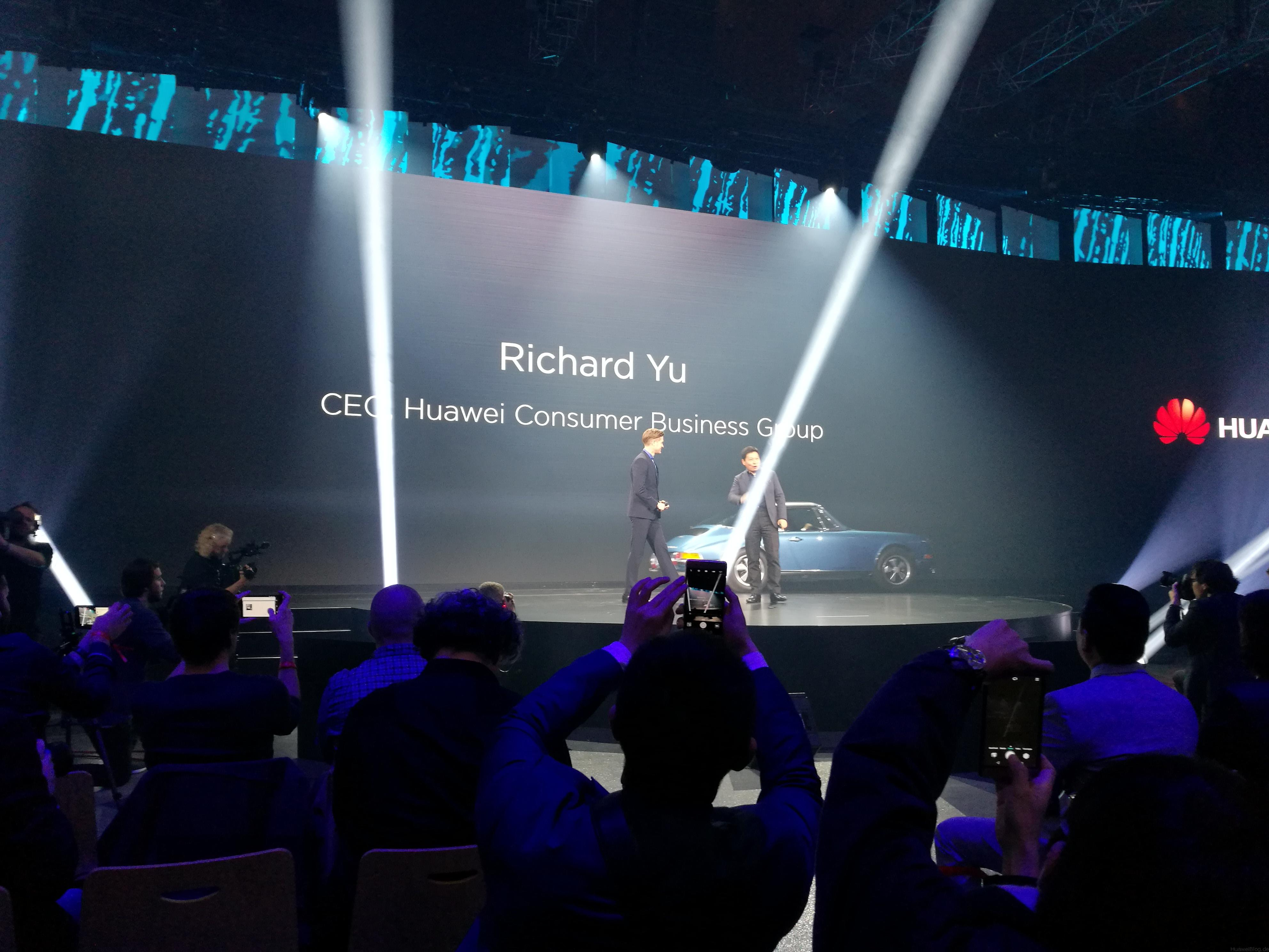 Mate 9 Launch Richard Yu