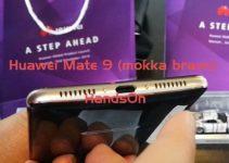 Huawei Mate 9 mokka braun HandsOn deutsch