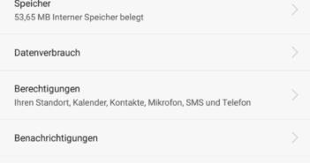 Google App deaktivieren