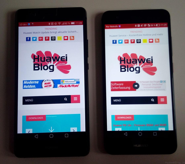 Huawei P9 Lite vs. Huawei nova
