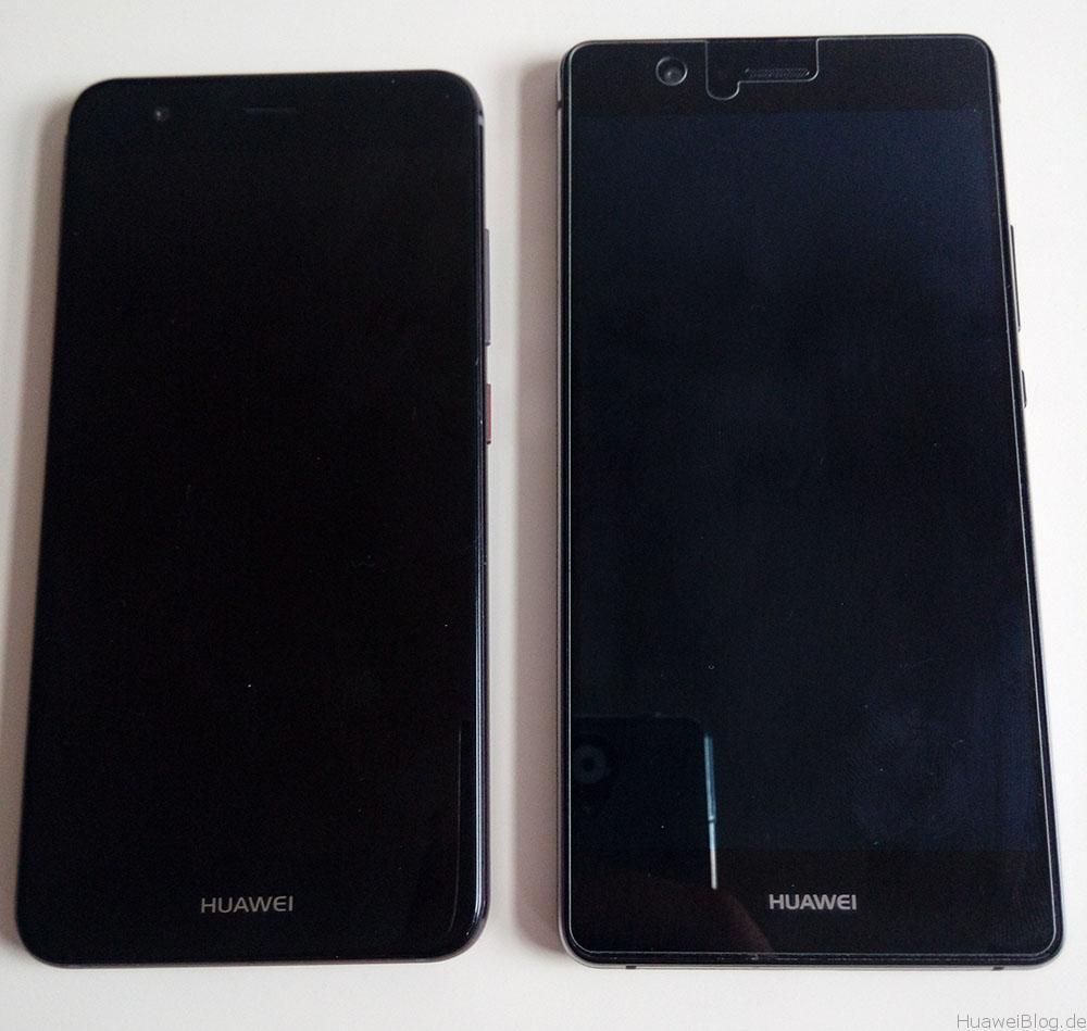 huawei p9 lite vs nova design