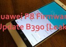 Huawei P8 Firmware Update B390 Leak