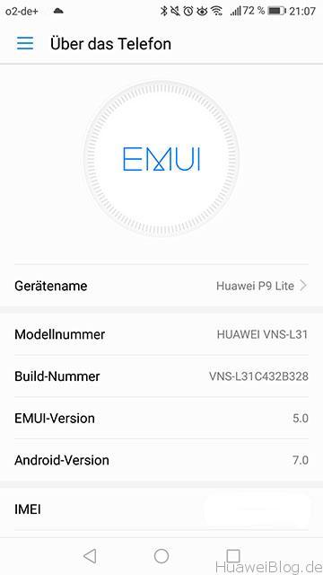 Kurz angetestet: EMUI 5 auf dem P9 Lite [BETA - LEAK] 1