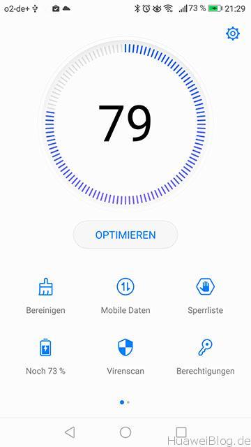 Huawei P9 Lite EMUI 5 Screenshot
