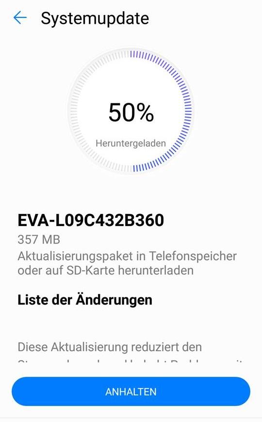 Huawei P9 Nougat