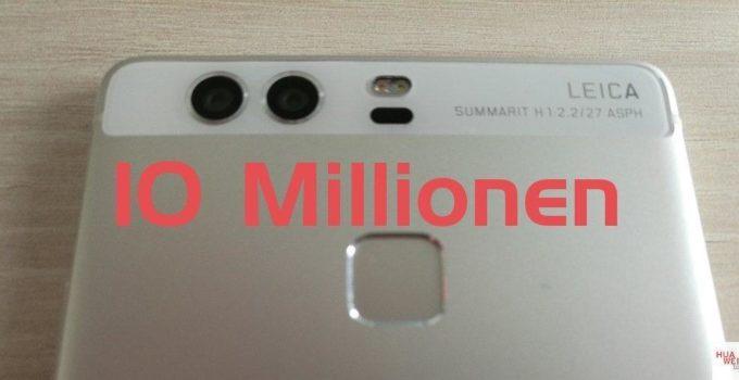 Huawei P9 Verkaufszahlen