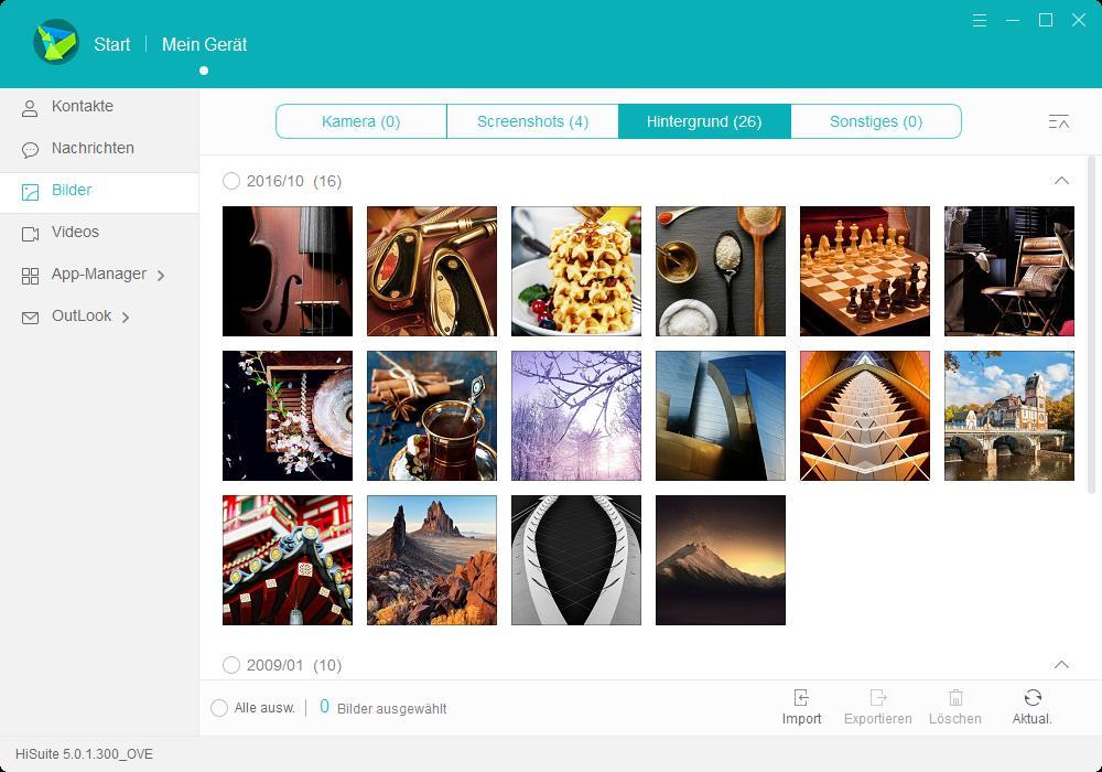 HiSuite Bilder