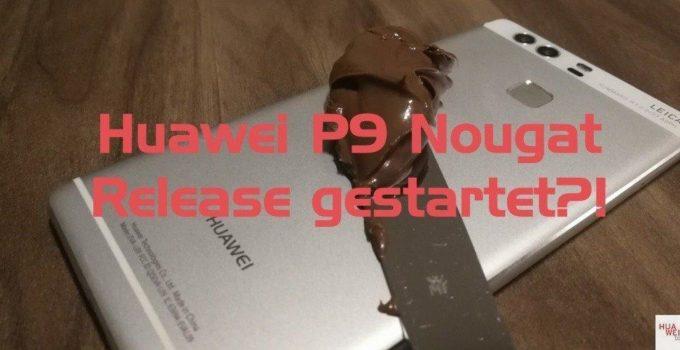 Huawei P9 Nougat Update
