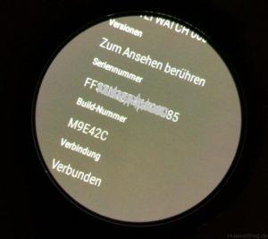 Huawei Watch Update Sicherheitspatch Info