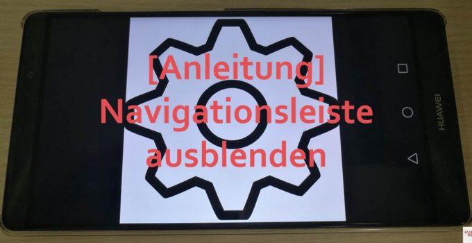 Navigationsleiste ausblenden Header