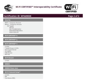Wi-Fi Zertifikat MediaPad T3 - Seite 2