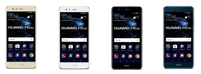 Huawei P10 lite: Der Neuzugang komplettiert die P10 Familie 2