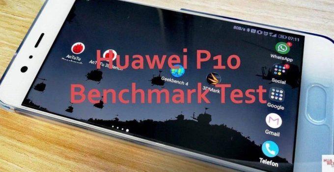 Huawei P10 Benchmark Test